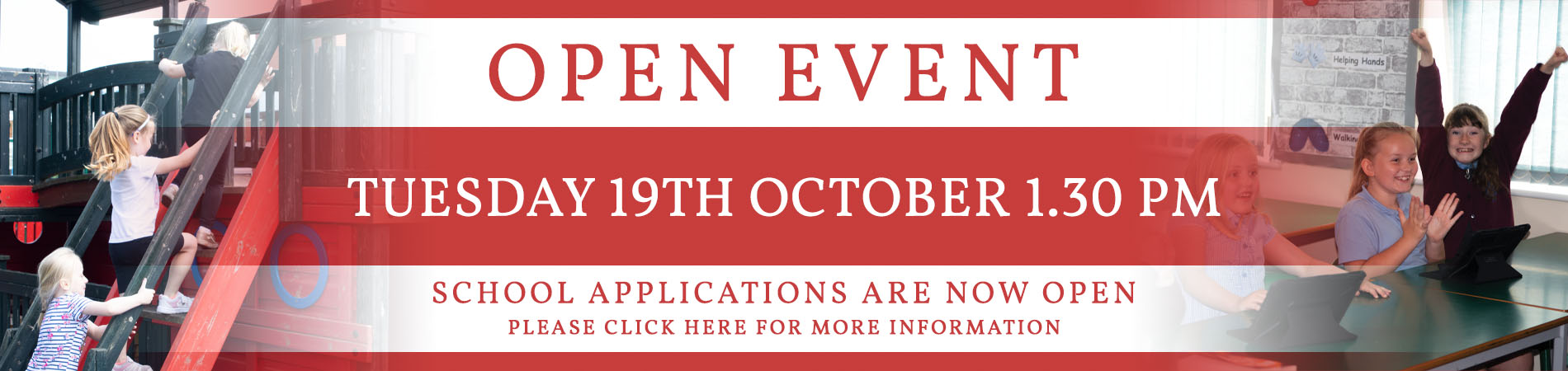 Open Event Banner (19th Oct)
